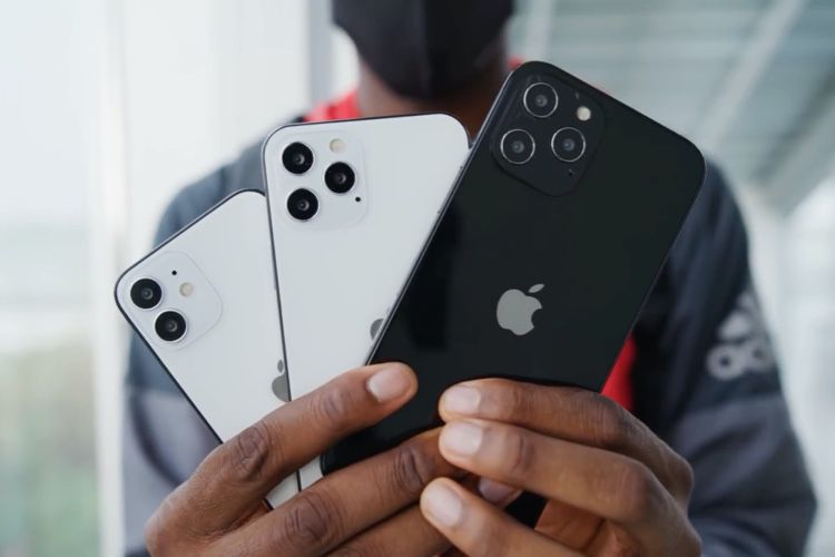 Les maquettes d'iPhone 12 en vedette dans des vidéos