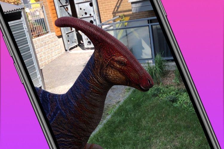 Les dinosaures rejoignent la ménagerie en réalité augmentée de Google