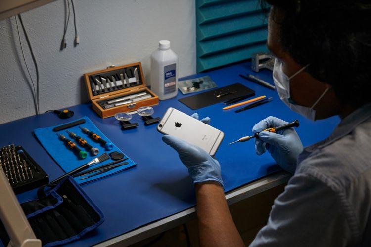 Apple fournira des pièces détachées d'iPhone aux réparateurs indépendants en France et ailleurs