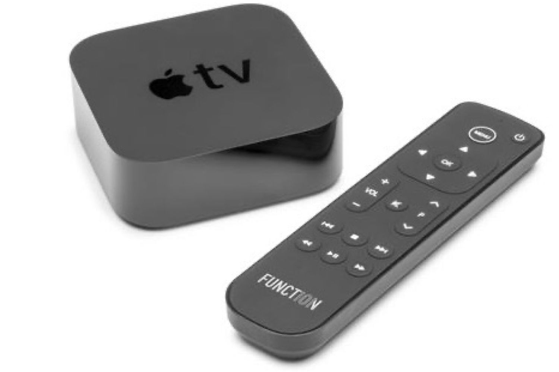 Button de Function101 : une autre télécommande pour l'AppleTV