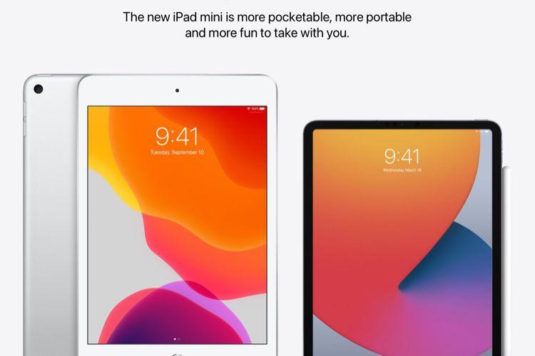 image en galerie : Concept : l'iPadmini avec les bordures amincies des iPadPro