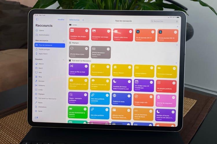 iOS14 : les nouveautés de l'app Raccourcis