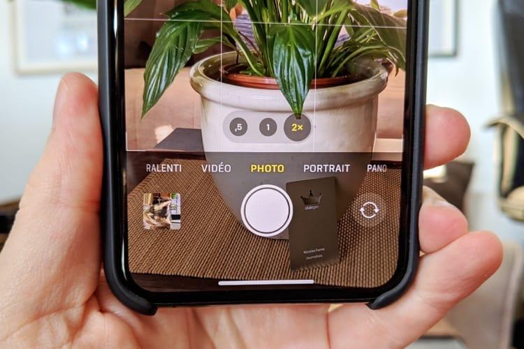 iOS14 désactive la capture hors du cadre des iPhone11 au profit de DeepFusion