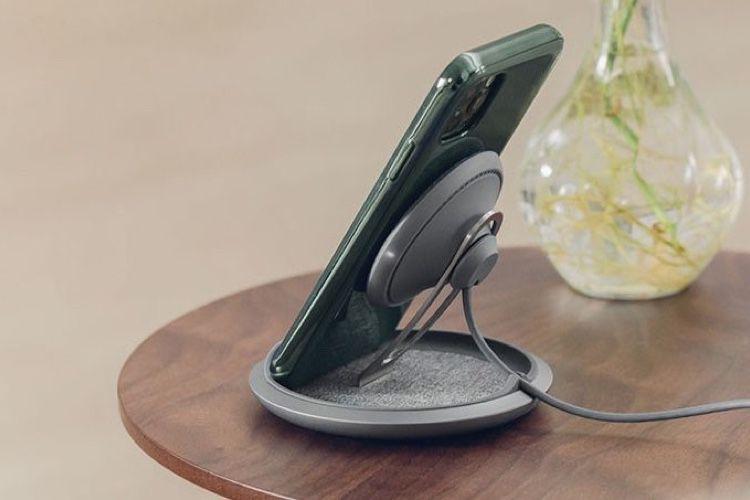 Test du chargeur sans fil Moshi Lounge Q pour iPhone