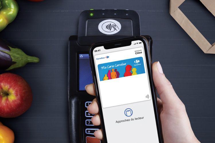 Wallet : la carte de fidélité Carrefour exploite la NFC, une première en Europe