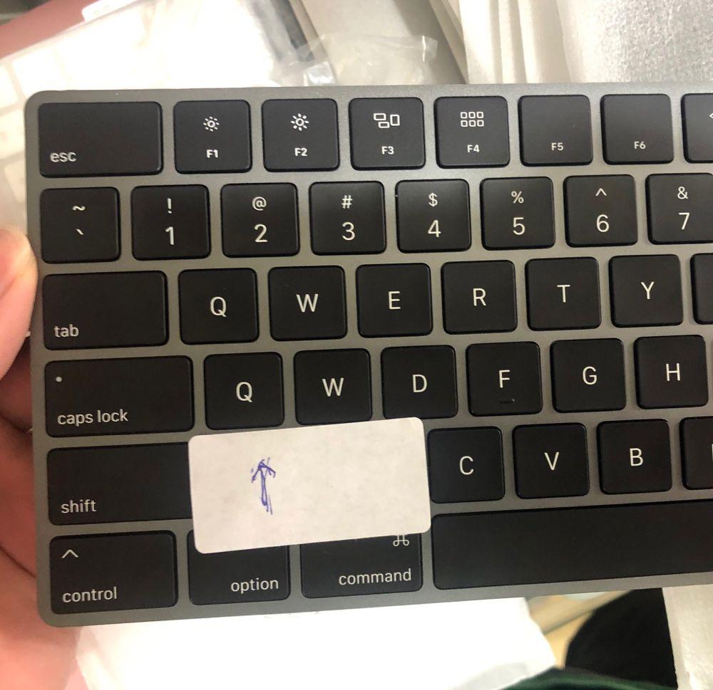 Ce Magic Keyboard vit une histoire de QQ