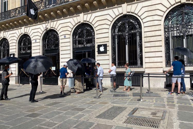 Des pépins pour les clients de l'AppleStore d'Opéra
