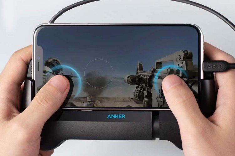 Une batterie Anker pour iPhone qui s'utilise comme une manette