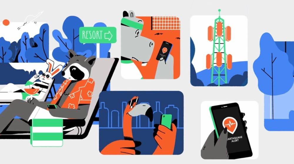 Google lance un système d'alerte pour smartphones — Tremblements de terre