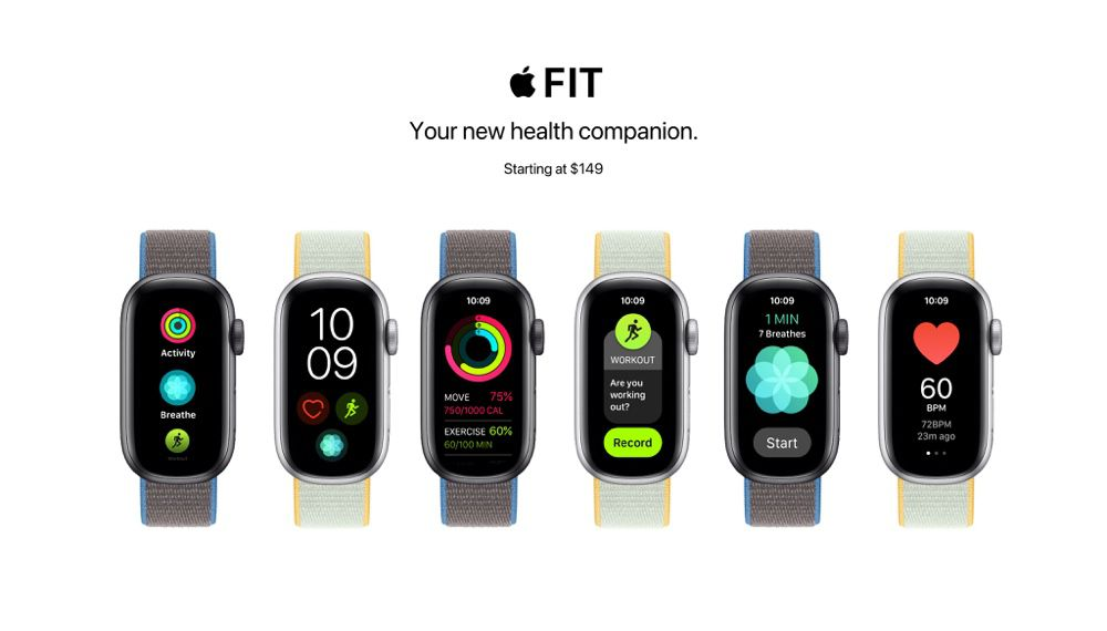 Apple Fit: un concept de bracelet entraînant