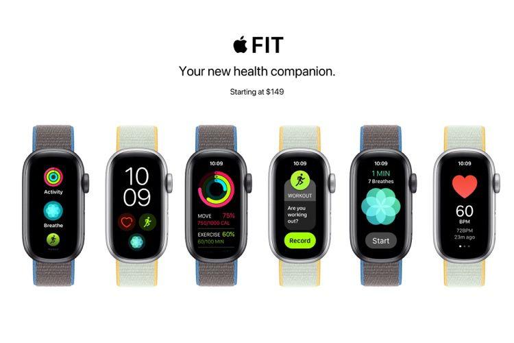 image en galerie : Apple Fit: un concept de bracelet entraînant