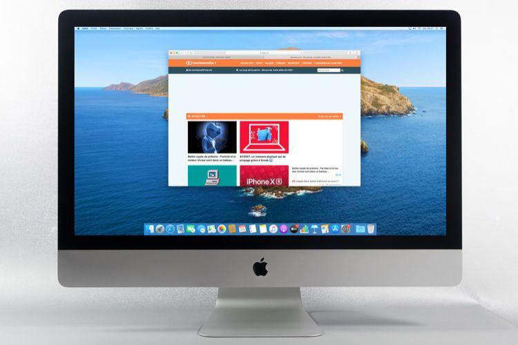 """Test de l'iMac 27"""" Retina 5K2020 (Corei7 à 3,8GHz) avec écran à verre nano‑texturé"""