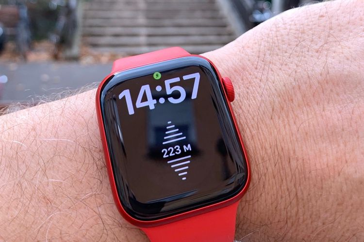 Test de l'Apple Watch Series 6