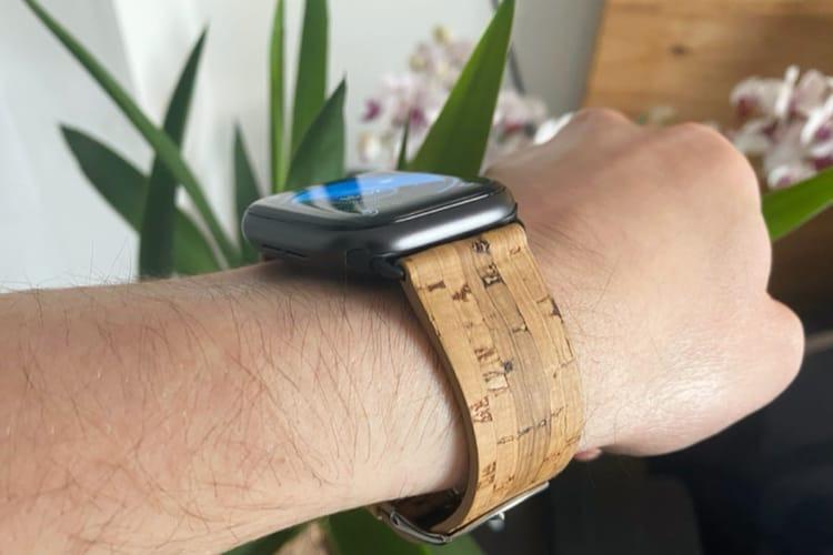 Prise en main des bracelets en liège de Nuuk pour les AppleWatch