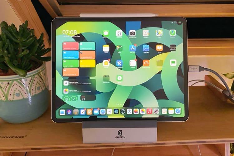 Un avant-goût de l'iPadAir4 avec ses fonds d'écran exclusifs