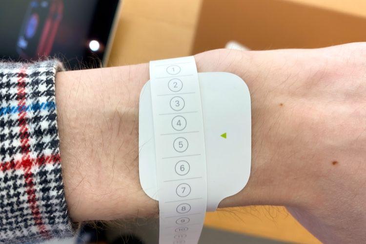 Les AppleStore ont un guide spécial pour mesurer le tour de poignet