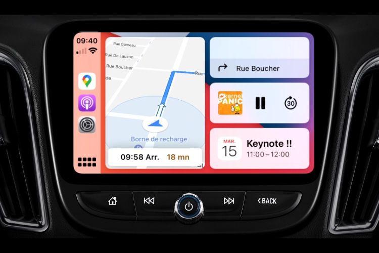 iOS 14 : les nouveautés de CarPlay