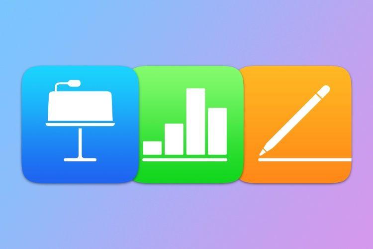 Pages, Numbers et Keynote compatibles avec la fonction Griffonner d'iPadOS 14