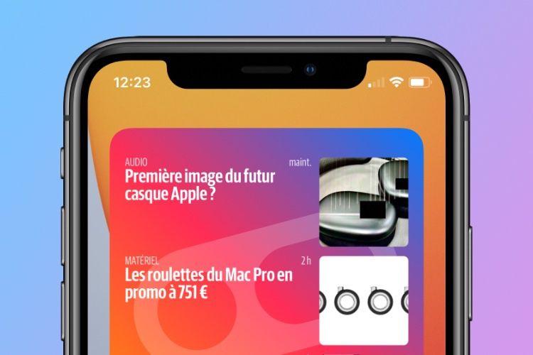 iOS 14 : installez le nouveau widget d'iGeneration sur votre iPhone ou votre iPad!