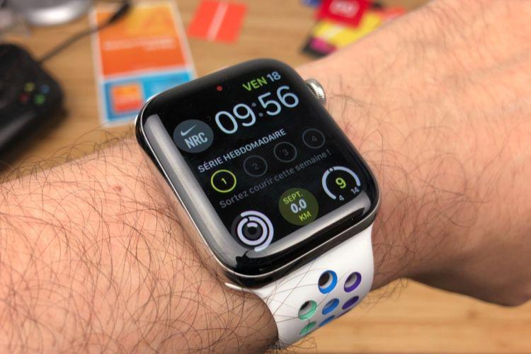 AppleWatch Nike : un cadran exclusif et des complications Nike Run Club