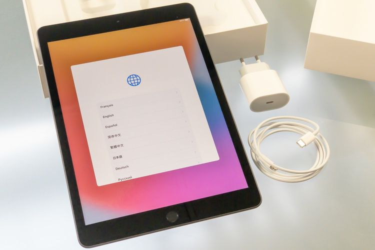 Aperçu de l'iPad 8