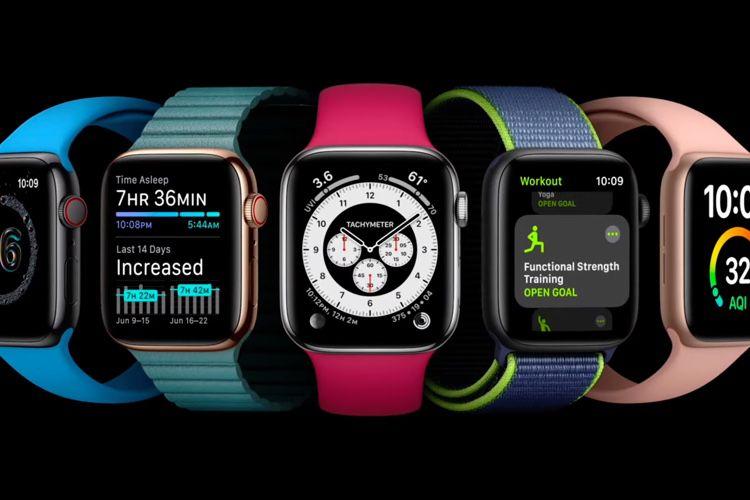 watchOS 7 est disponible au téléchargement