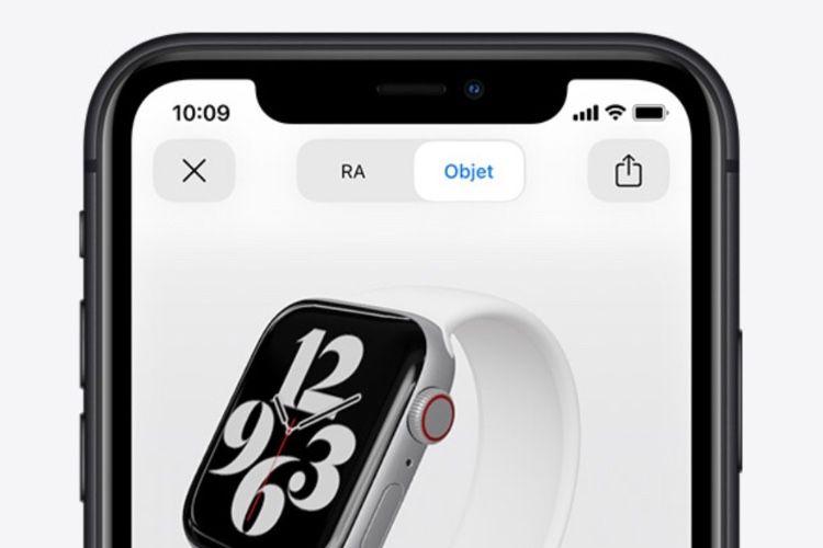 Les nouvelles AppleWatch se dévoilent en réalité augmentée