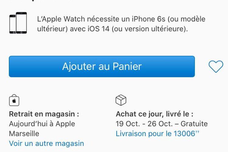 AppleWatch Series 6 : des délais jusqu'à la mi-novembre