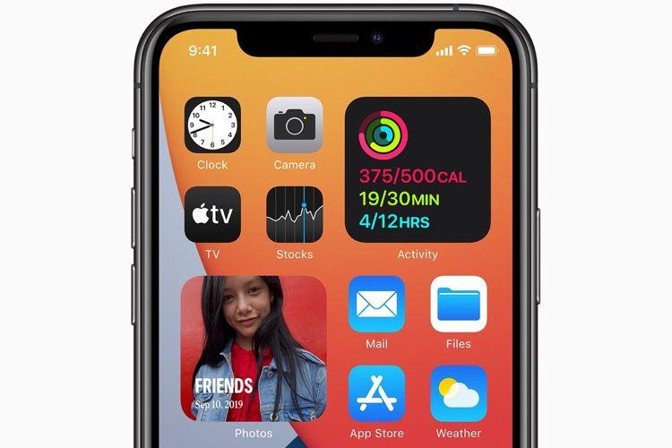 iOS 14 utilisé par 86% des iPhone et 84% des iPad récents