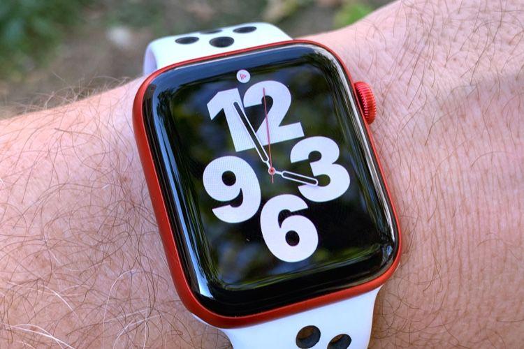 Premier rendez-vous avec l'AppleWatch Series6