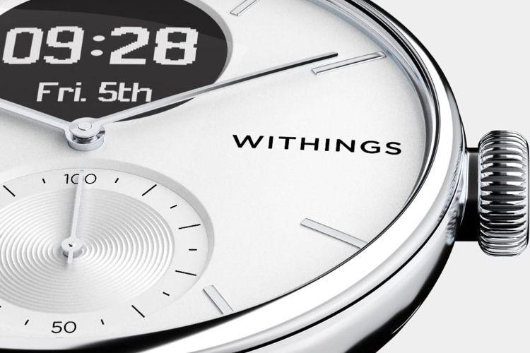 ScanWatch : une montre connectée axée sur la santé, mais une vraie montre avant tout!  📣