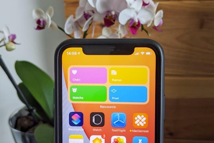 Astuce iOS14: comment remplacer le widget des numéros favoris