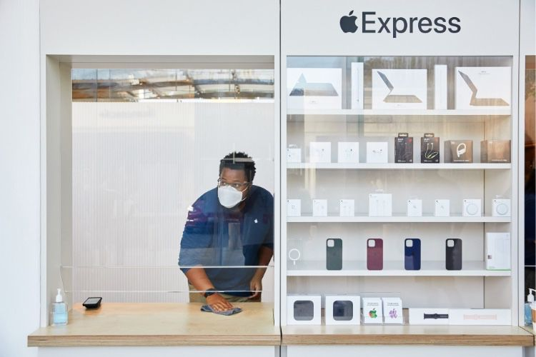 Le dispositif des AppleStore pour le nouveau confinement