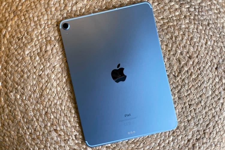 Prise en main d'un iPad Air4 pas très bleu