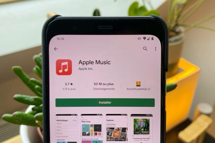 AppleMusic: l'app Android gagne une fonction que la version iOS n'a pas