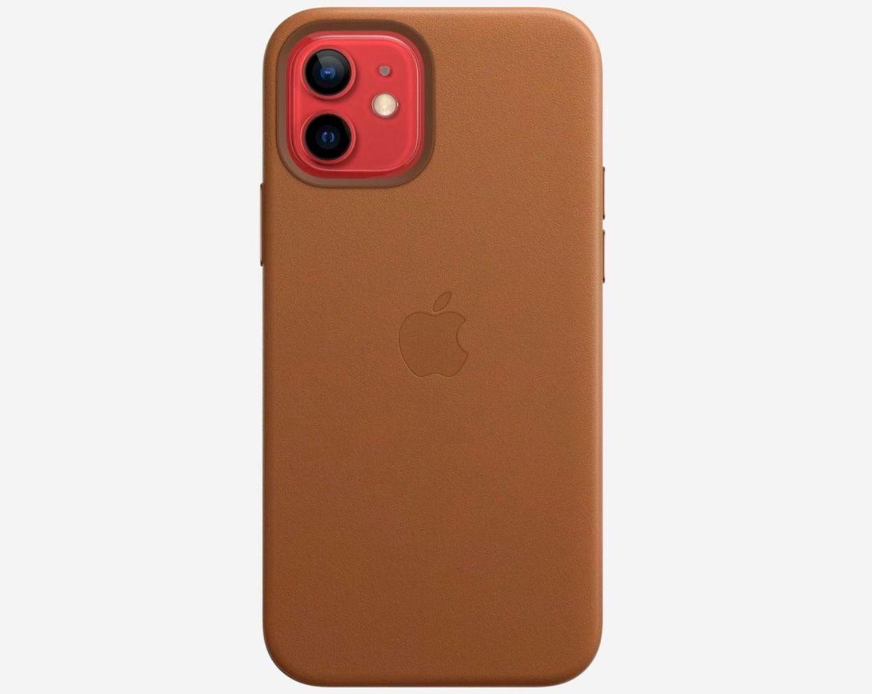L'étui en cuir Apple pour iPhone 12 commercialisé le 6 novembre ...