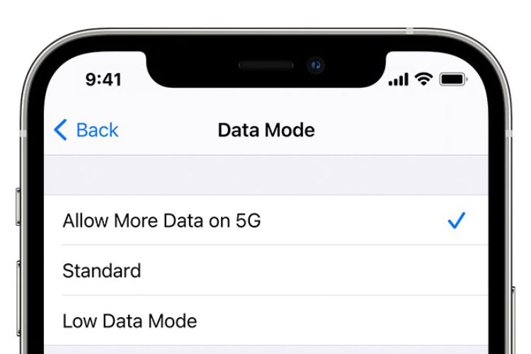 Apple clarifie les réglages 5G de l'iPhone 12
