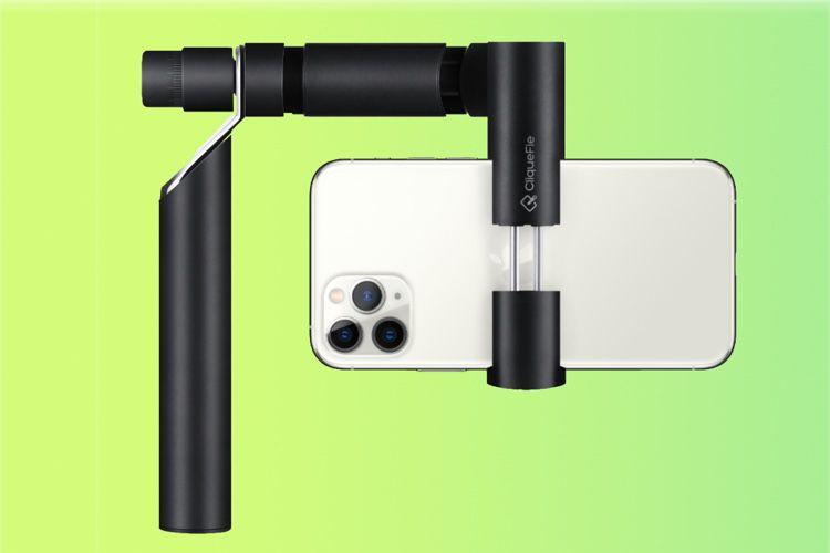 Accessoires: le Sway de CliqueFie maintient l'iPhone perpendiculaire au sol