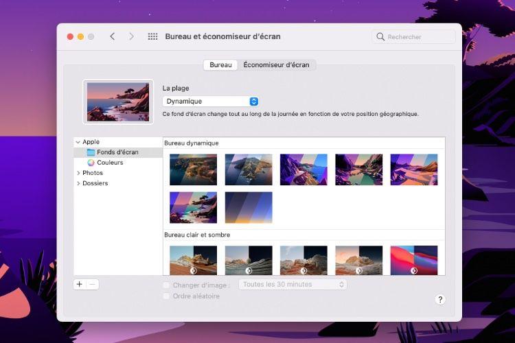 Téléchargez les nouveaux fonds d'écran de macOS 11.0.1