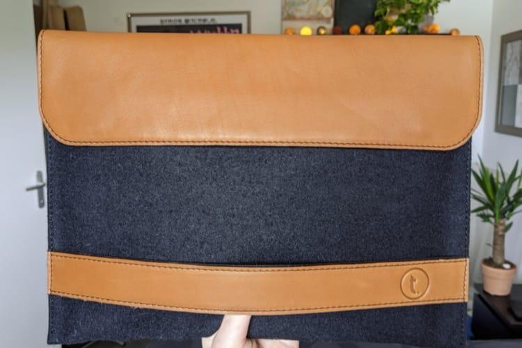 Prise en main de LeDandy, une housse pour iPadPro 12,9pouces
