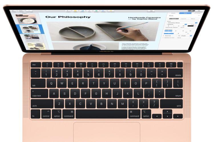 Promo : le MacBookAir 2020 à partir de999€ (-200€)