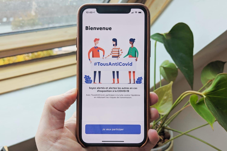 TousAntiCovid ne fonctionne toujours pas en tâche de fond entre iPhone