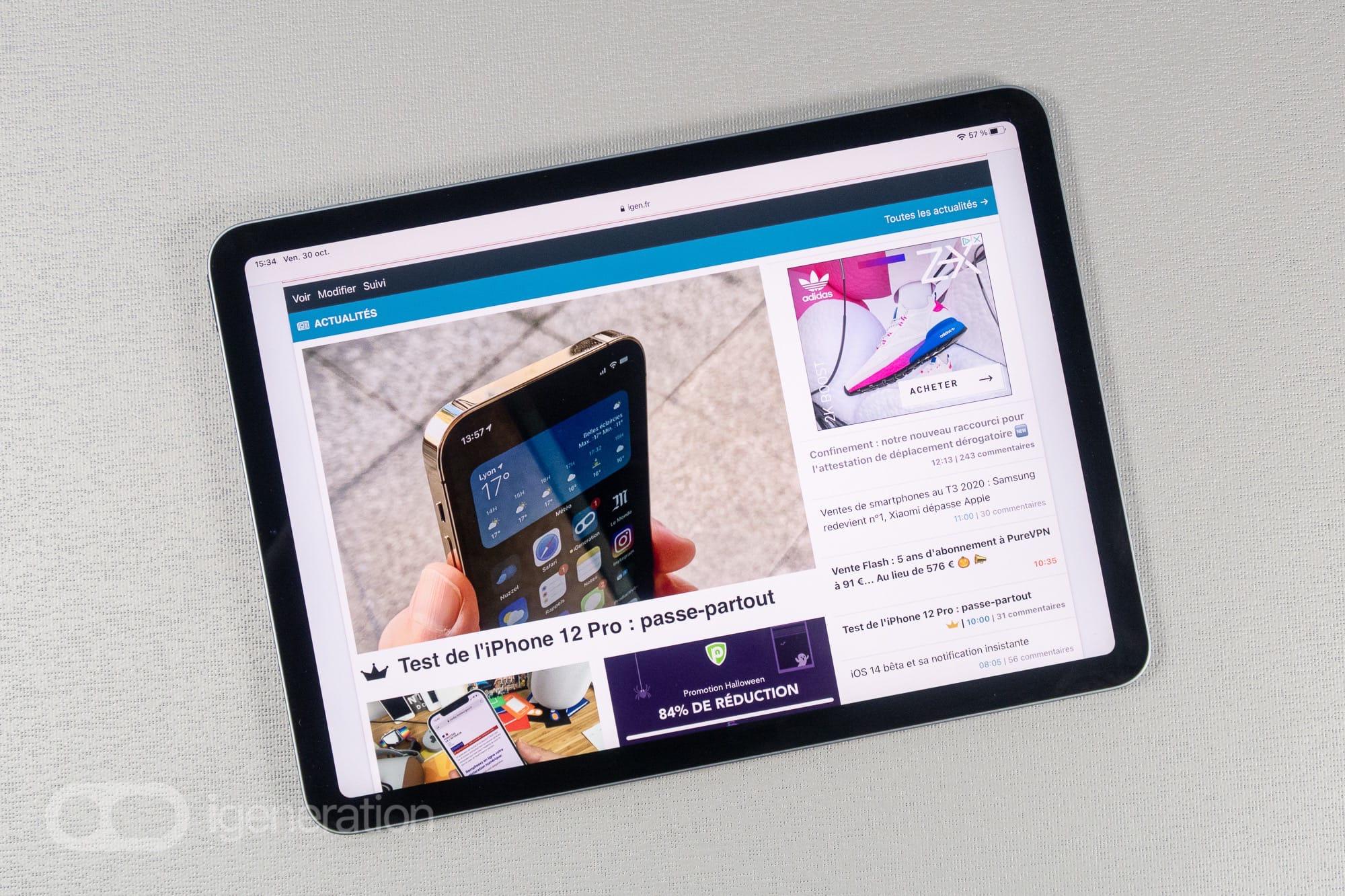 Le premier iPad Pro avec un mini écran LED pourrait arriver début 2021