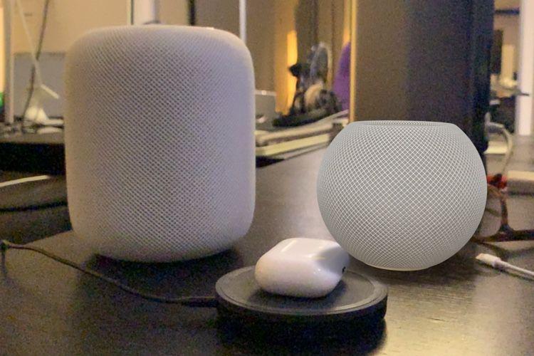 Installez un HomePod mini chez vous en réalité augmentée (l'iPhone 12 aussi !)