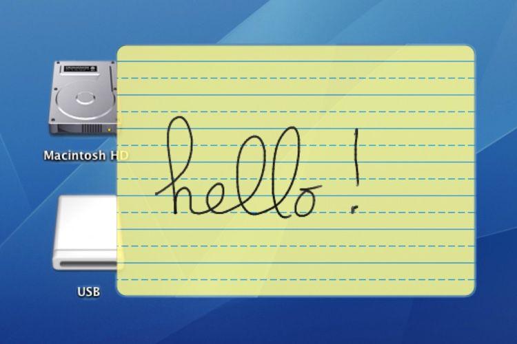 Derrière la fonction Griffonner de l'iPad, encore et toujours l'héritage du Newton