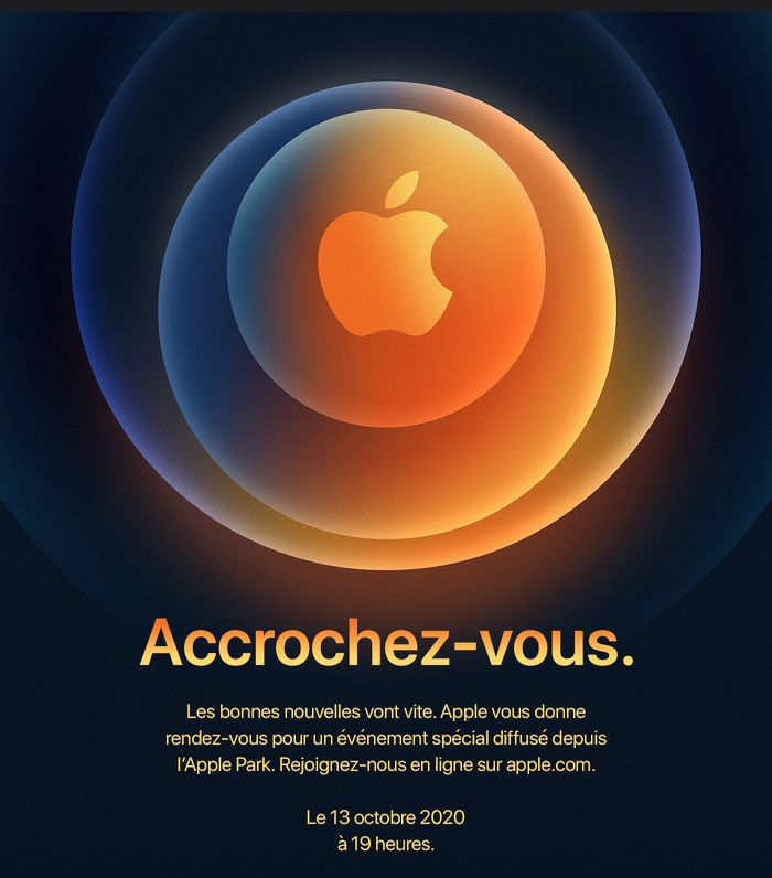 Hi Speed Apple Tiendra Un Nouveau Keynote Le 13 Octobre Pour L Iphone 12 Macgeneration