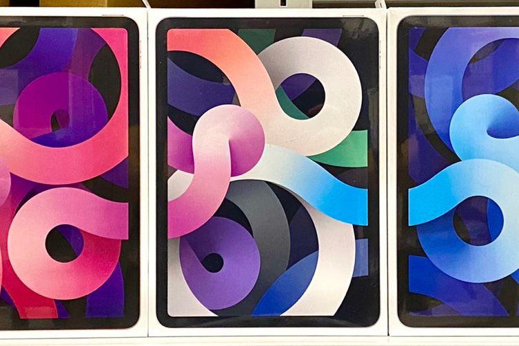 image en galerie : Les fonds d'écrans de l'iPad Air 4 ne perdent pas le fil