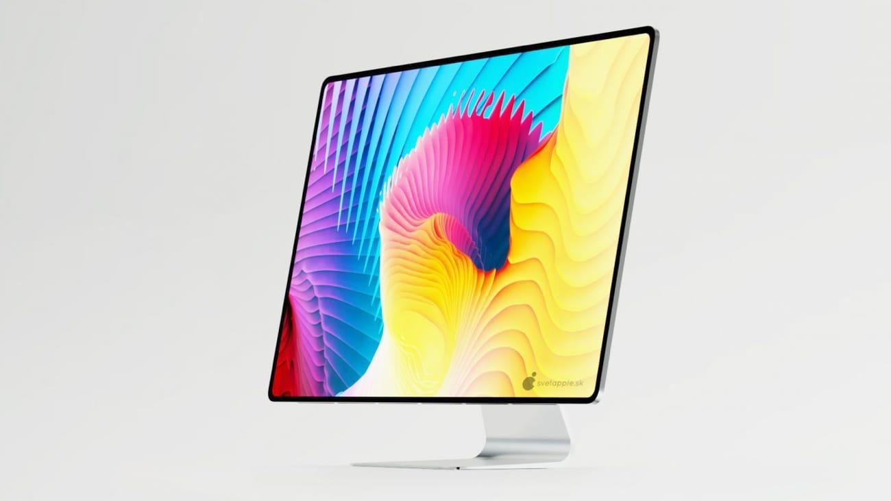 Concept : des iMac sans bordure pour 2021