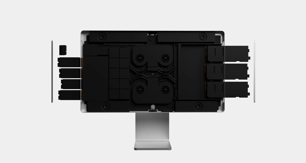 Concept : un iMac Pro qui reprend le design du Mac Pro et ...