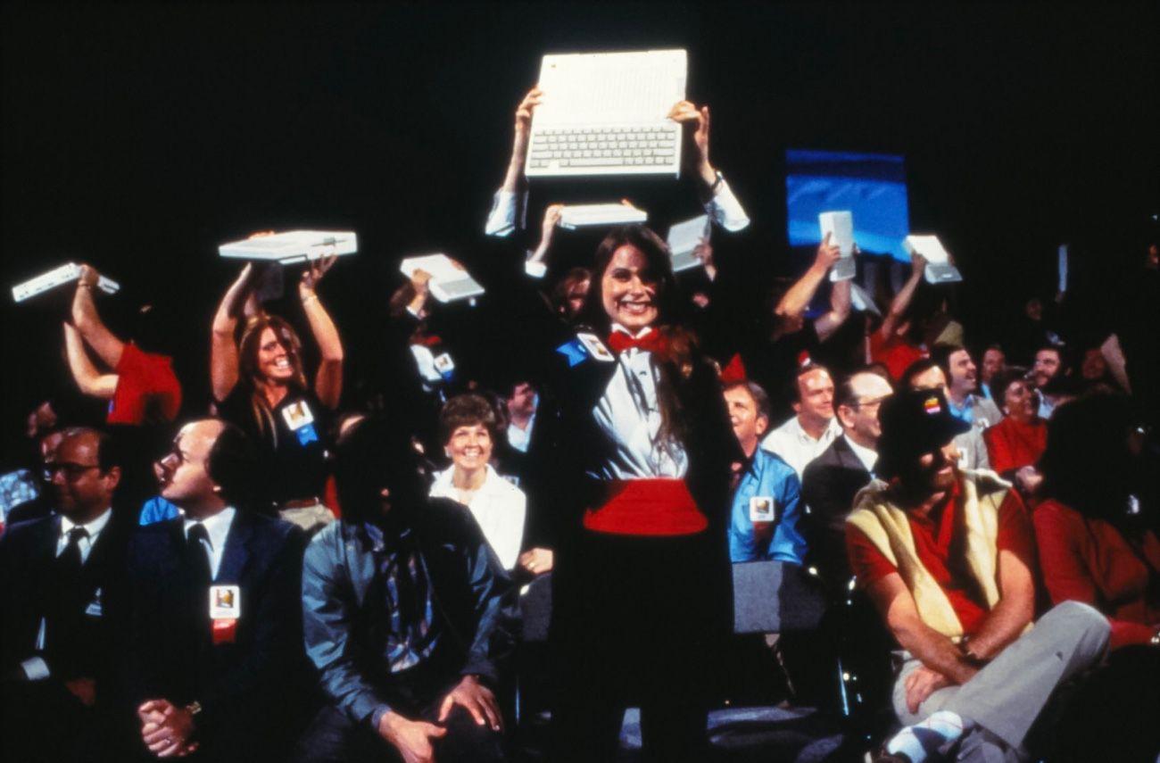 Voilà à quoi ressemblait le lancement d'un ordinateur Apple il y a plus de 35 ans